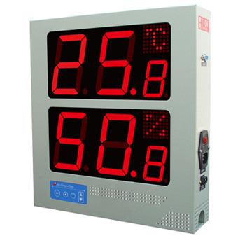 溫濕度計看板